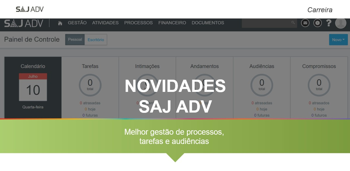 SAJ ADV software jurídico